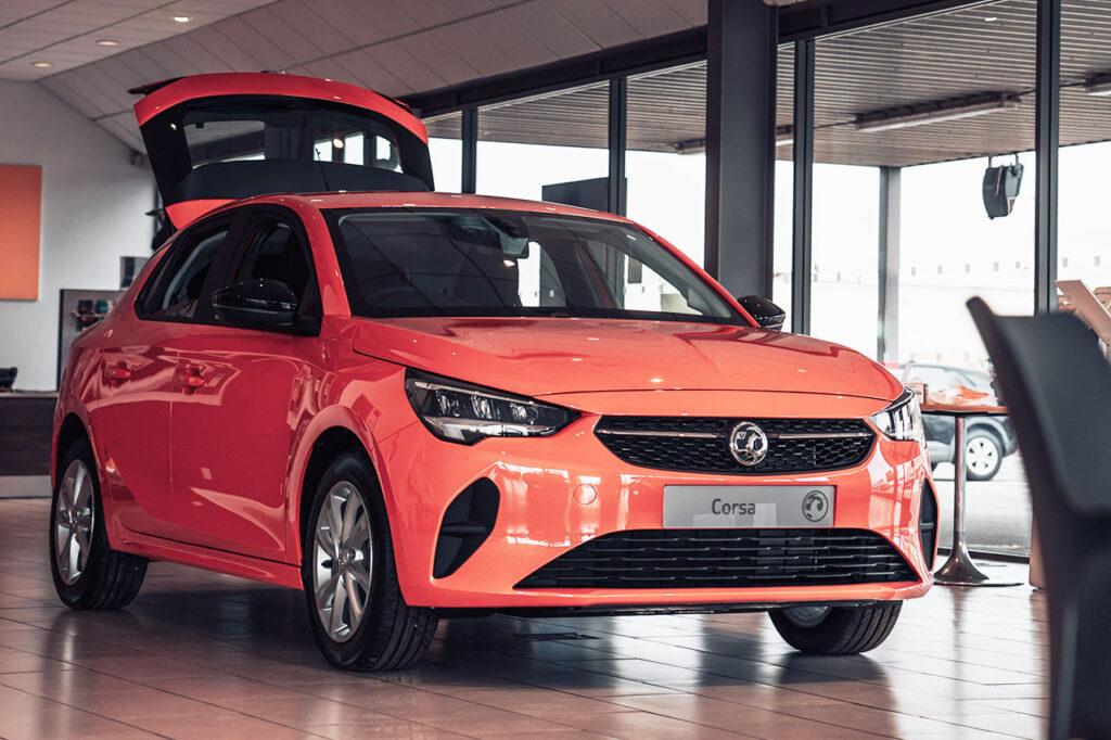Taylors New Vauxhall Corsa