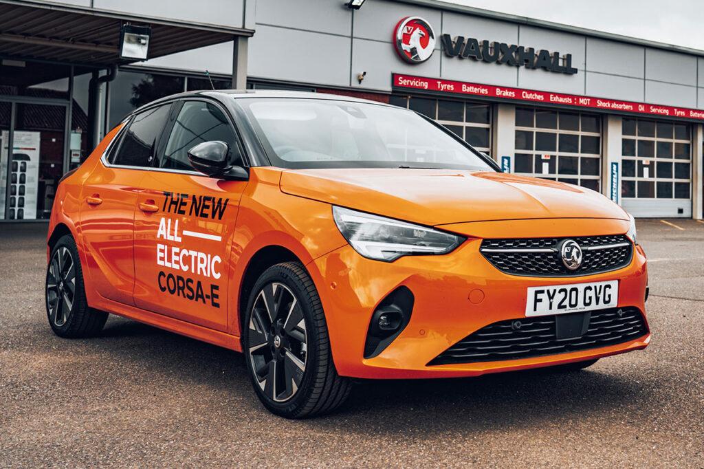 Taylors New Vauxhall Corsa e