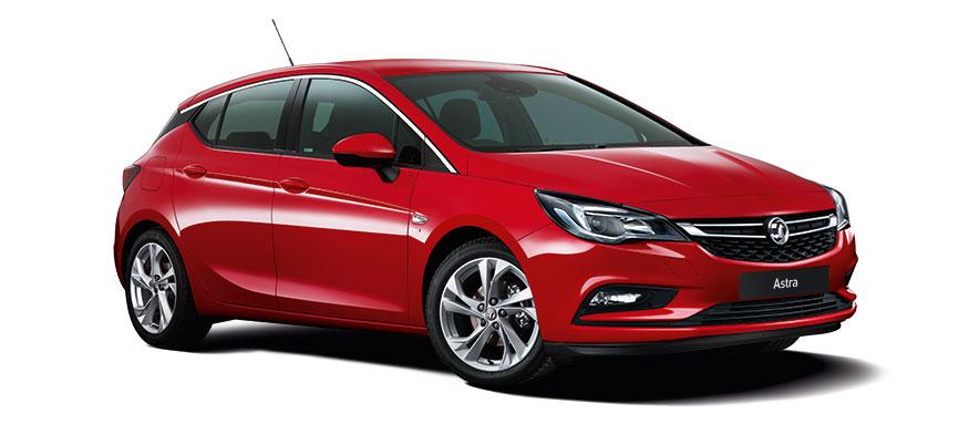 Taylors New Vauxhall Astra