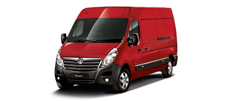 Taylors Vauxhall New Movano Van