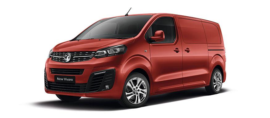 Taylors Vauxhall New Vivaro Van