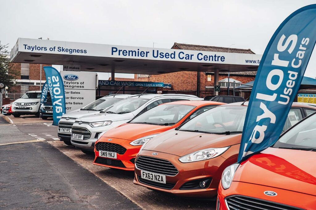 Taylors of Skegness Used Ford Cars for Sale