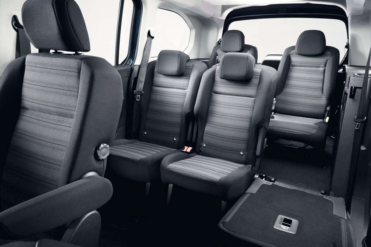 Taylors New Vauxhall Combo Life Seating