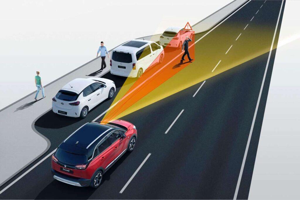 Taylors Vauxhall Crossland Innovative Safety