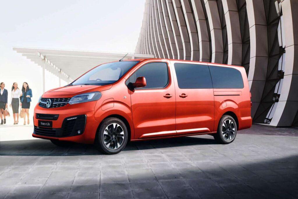 Taylors Vauxhall Electric Cars Vivaro-e Life
