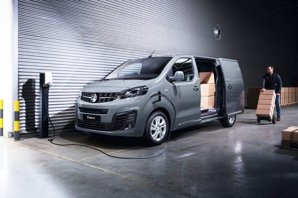 Taylors Vauxhall Vivaro E Van