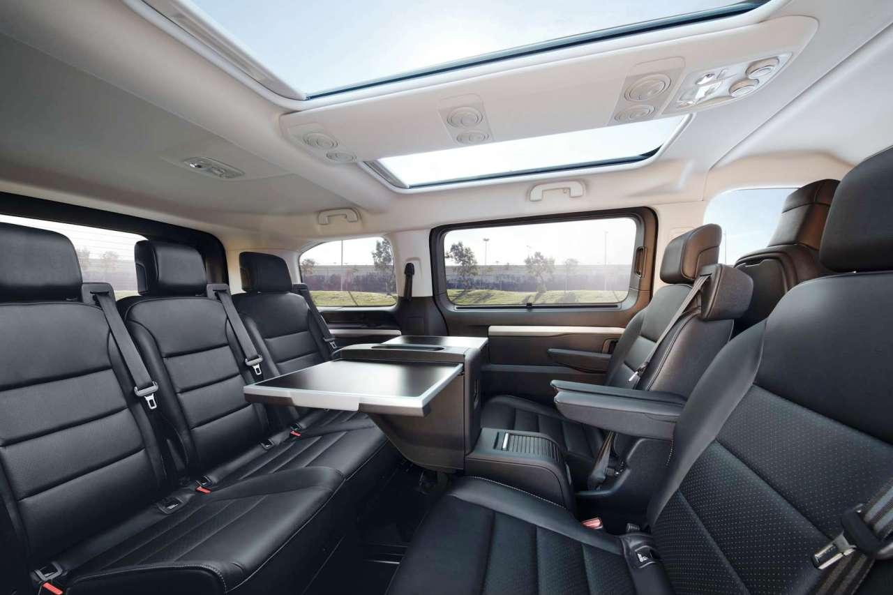 Taylors Vauxhall New Vivaro Life Seating