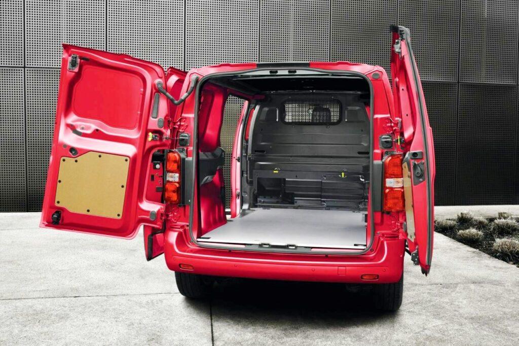 Taylors Vauxhall Vivaro Van
