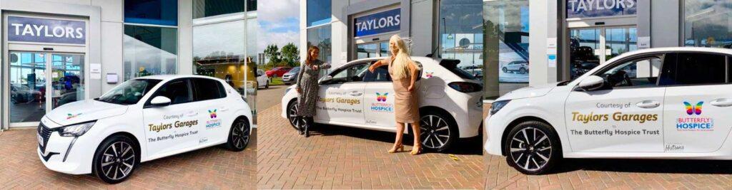 Taylors of Boston Donate New Peugeot 208