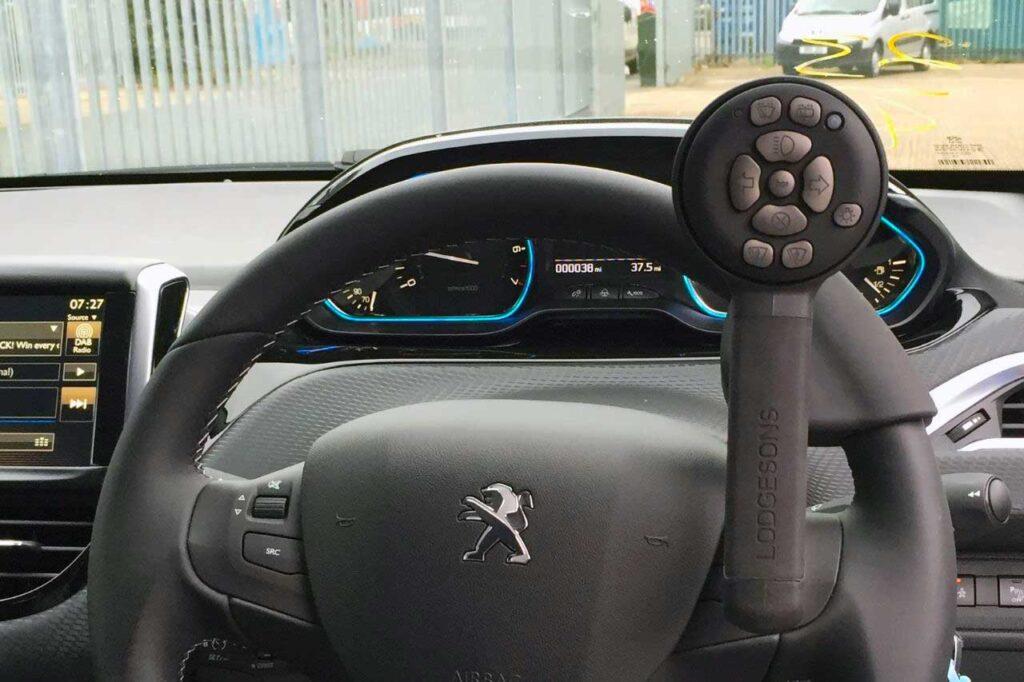 Taylors Peugeot Motability Adaptations Infared Controls