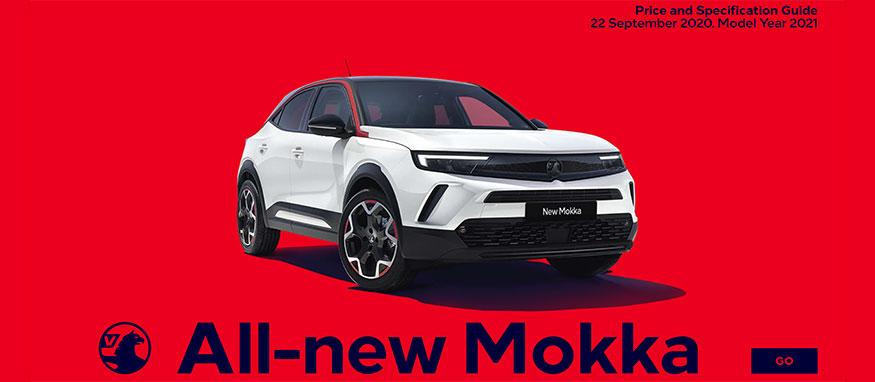 Taylors Vauxhall All New Mokka Price Guide