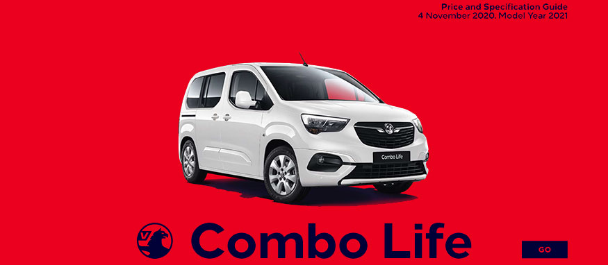 Taylors Vauxhall New Combo Life Price Guide
