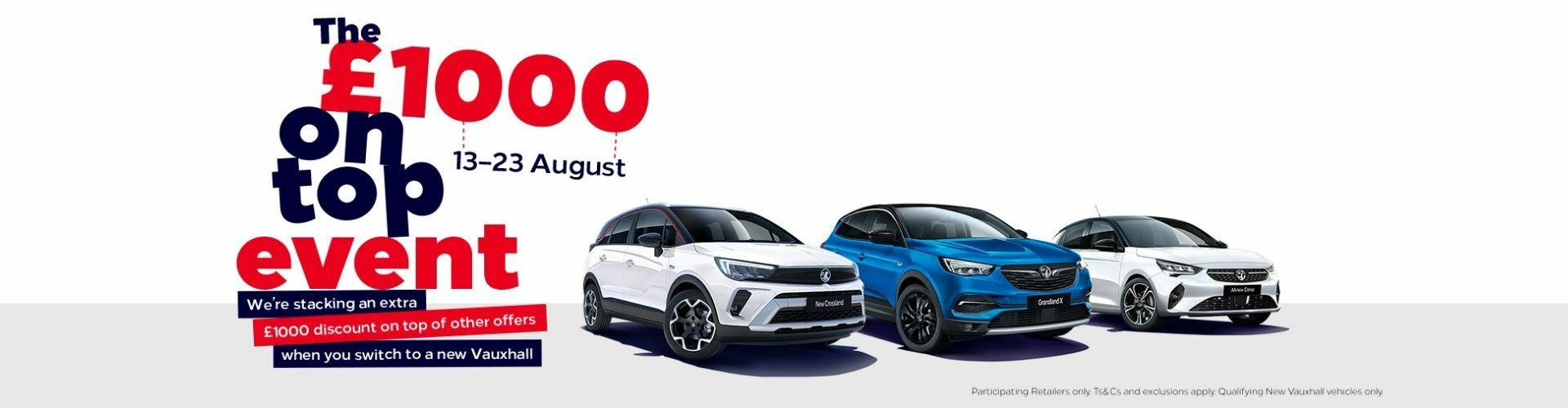 Taylors New Vauxhall Deals