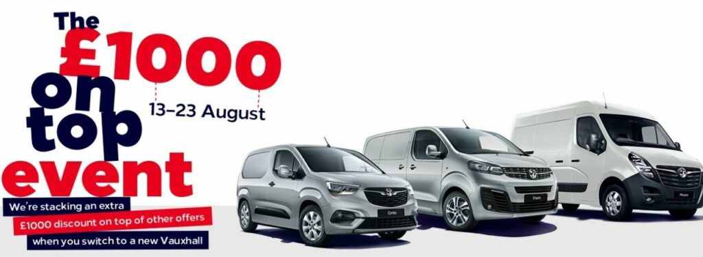 Taylors Motor Group New Vauxhall Deals Vans