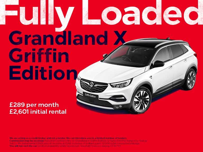 New Vauxhall Deals Grandland X Griffin