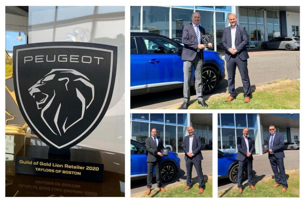 Taylors Peugeot Win Award